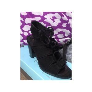 Wedge Black Heel